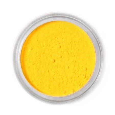 Barwnik spożywczy w proszku Fractal - Canary Yellow, Żółty (2,5 g)