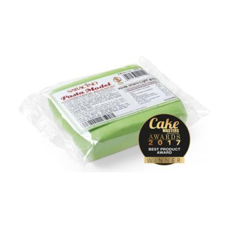 Masa cukrowa do modelowania - Saracino - Jasny zielony - 250 g