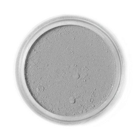 Barwnik spożywczy w proszku Fractal - Ashen Grey, Popielaty Szary (4 g)