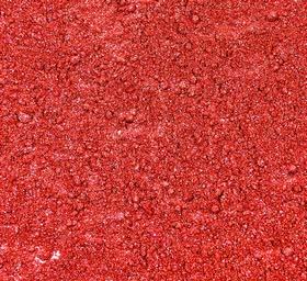 Błyszczący, metaliczny barwnik perłowy w proszku 45 Rich Red - Food Colours