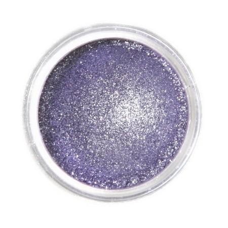 Metaliczny, perłowy barwnik spożywczy w proszku Fractal - Sparkling Violet, Błyszczący Fiolet (2,5 g)