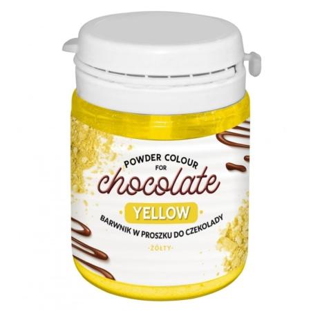 Barwnik w proszku do czekolady Żółty WS-P-200 - 20 g