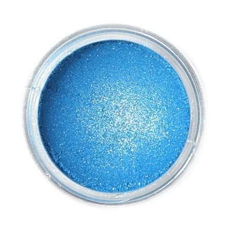 Metaliczny, perłowy barwnik spożywczy w proszku Fractal - Blue Sapphire, Szafirowy Niebieski (1,5 g)