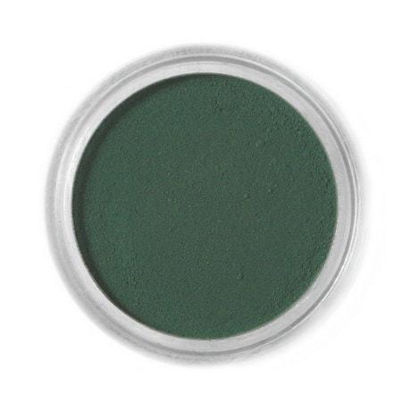 Barwnik spożywczy w proszku Fractal - Dark Green, Ciemny Zielony (1,5 g)