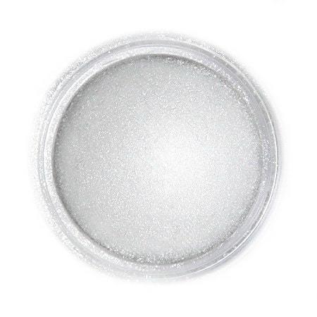 Metaliczny, perłowy barwnik spożywczy w proszku Fractal - Light Silver, Jasny Srebrny (3 g)