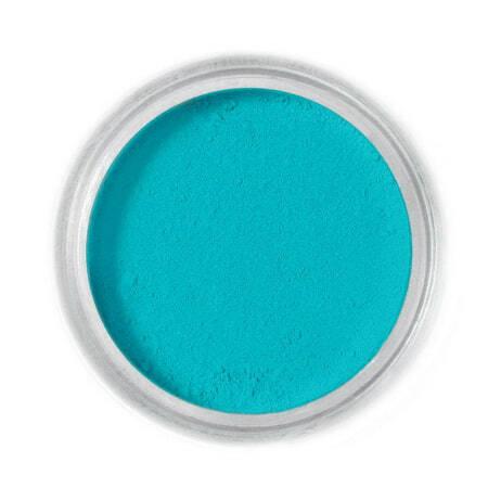 Barwnik spożywczy w proszku Fractal - Lagoon Blue, Błękit Laguny (1,7 g)