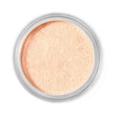 Barwnik spożywczy w proszku Fractal - Peach, Brzoskwinia (4 g)