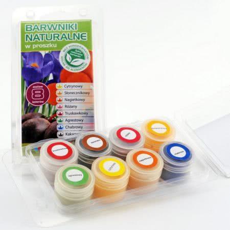 Naturalne barwniki w proszku