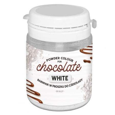 Barwnik w proszku do czekolady Biały WS-P-230 - 20 g