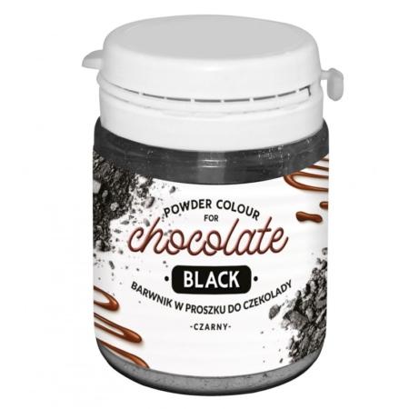 Barwnik w proszku do czekolady Czarny WS-P-245 - 20 g