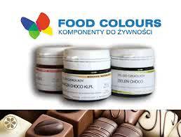Barwniki do czekolady