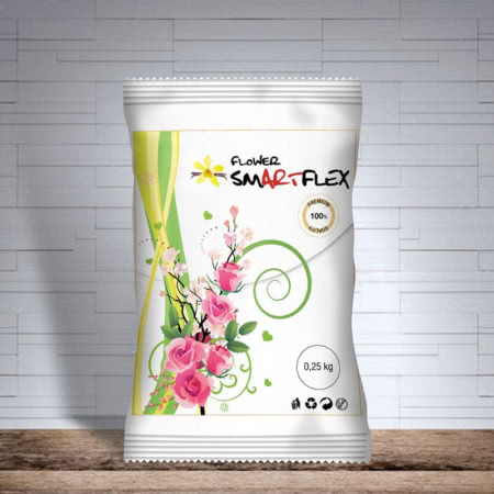 Masa cukrowa do kwiatów Smartflex FLOWER 0,25 kg