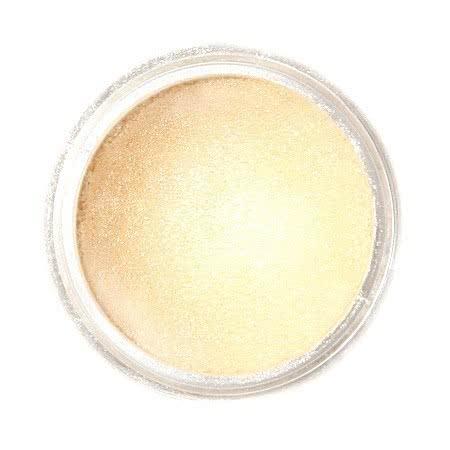 Metaliczny, perłowy barwnik spożywczy w proszku Fractal - Champagne Gold, Szampańskie Złoto (3,5 g)