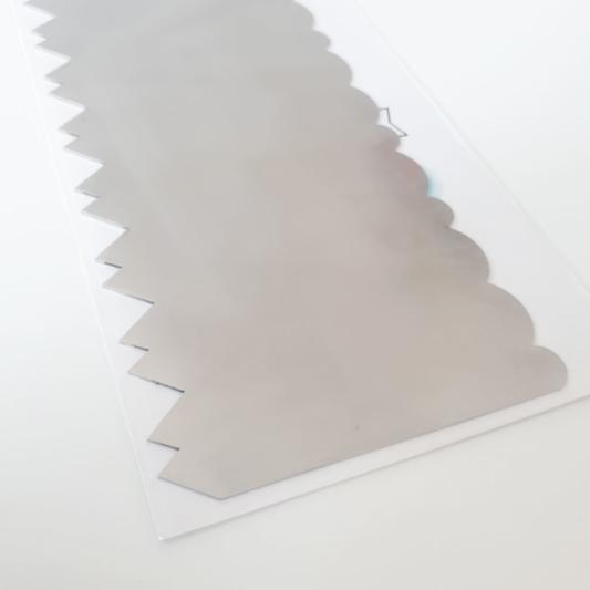 Metalowa Skrobka/Packa - Miniowe Formy - Kontrast 19,5 cm