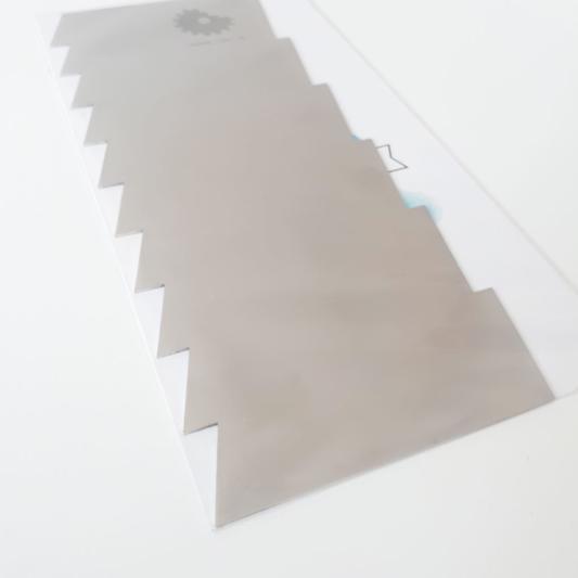 Metalowa Skrobka/Packa - Miniowe Formy - Ostra 19,5 cm