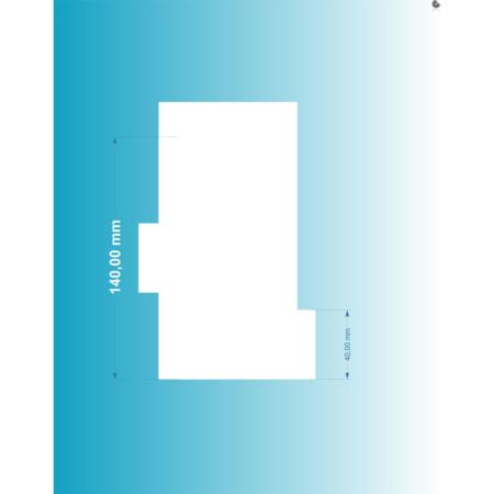 Packa do tortów - Miniowe Formy - Duże Rowki 14 cm