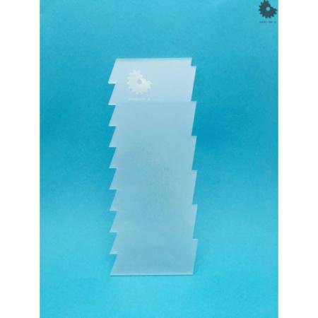 Packa do tortów - Miniowe Formy - Prostokąt 2 - 19,5 cm
