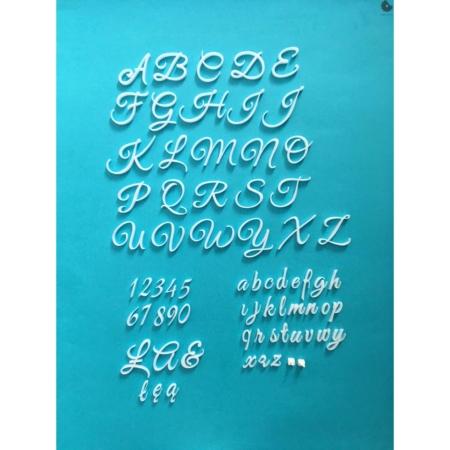 Tortowy Alfabet Exclusive XL - Miniowe Formy