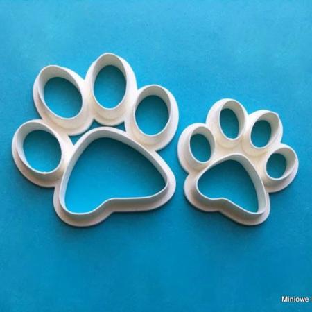 Foremki do masy cukrowej – Łapy Psa - Miniowe Formy