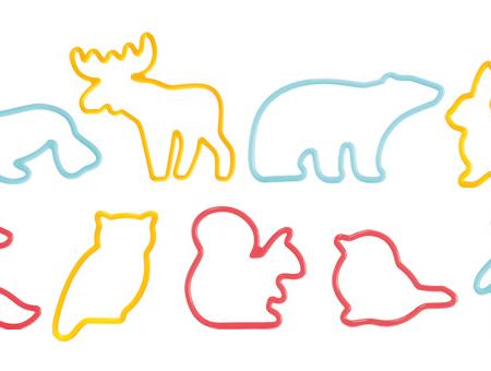Zestaw Wykrawaczek Zwierzęta - Tescoma