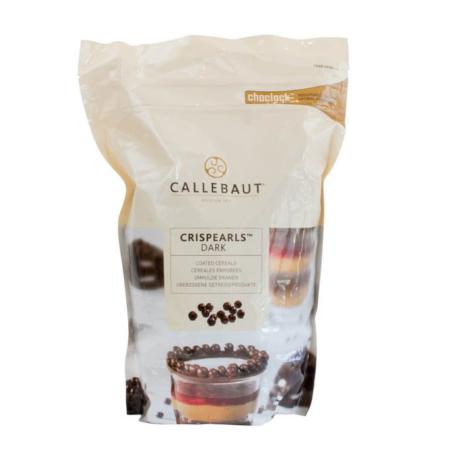 Czekoladowe perełki, posypka Crispearls™ Ciemne – Barry Callebaut – 0,8 kg