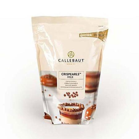 Czekoladowe perełki, posypka Crispearls™ Mleczne – Barry Callebaut – 0,8 kg