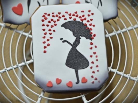 Foremka na tort lub ciasteczka Etykieta, Ramka, Ornament 4 - Miniowe Formy - 10 x 8,5 cm