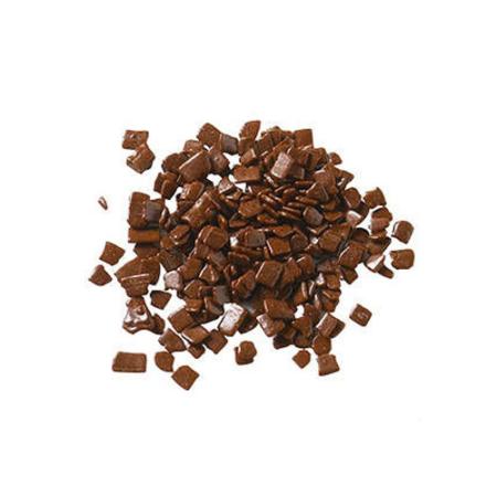 Czekoladowa posypka, nieregularne płatki Split Mleczne – Barry Callebaut – 1 kg