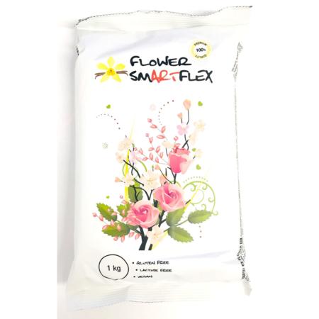 Smartflex Flower - masa cukrowa do kwiatów 1 kg - smak waniliowy