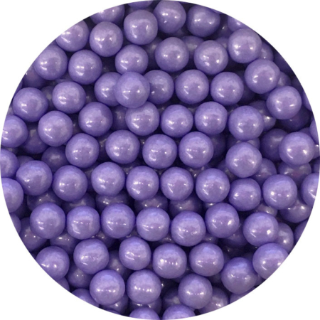 Cukrowe perły fioletowe 7 mm (200 g)