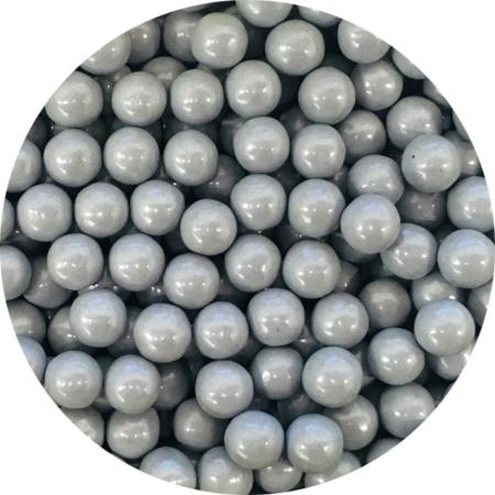 Cukrowe perły szare 7 mm (200 g)