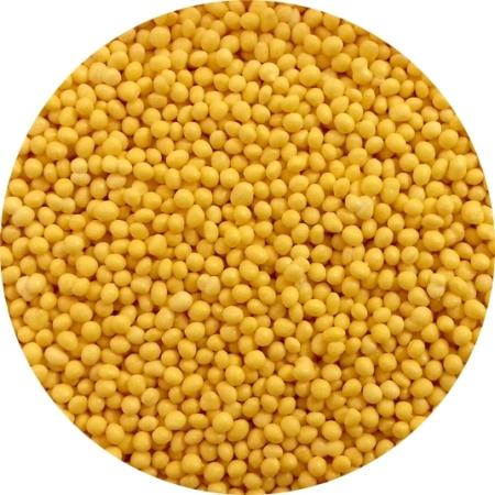 Maczek Cukrowy, Posypka Żółta Błyszcząca - 50 g