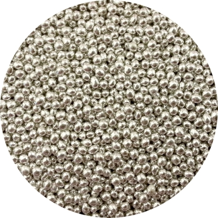 Maczek Cukrowy Srebrny Błyszczący, Posypka - 50 g