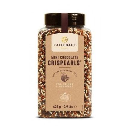 Czekoladowe perełki, posypka Mini Crispearls™ – Barry Callebaut – 0,425 kg