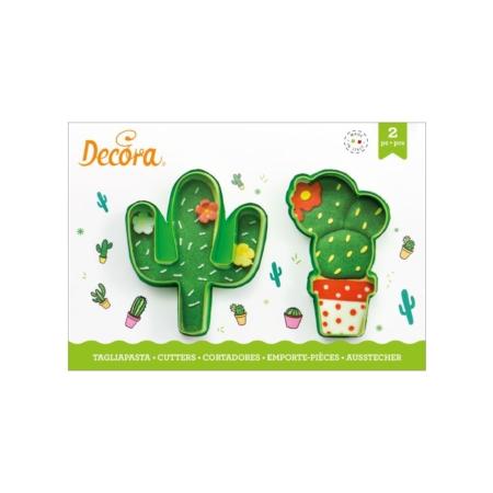 Foremka Kaktusy - zestaw 2 szt. - Decora
