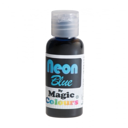Barwnik w żelu Magic Colours Neon Blue, Neonowy Niebieski (32g)