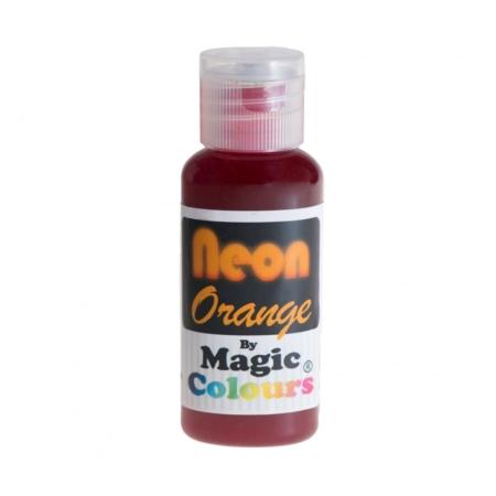 Barwnik w żelu Magic Colours Neon Orange, Neonowy Pomarańczowy (32g)