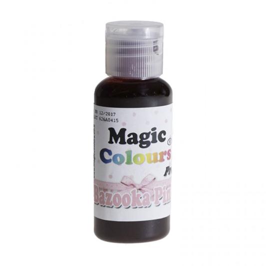 Barwnik w żelu Magic Colours PRO - Bazooka Pink, Różowy (32g)