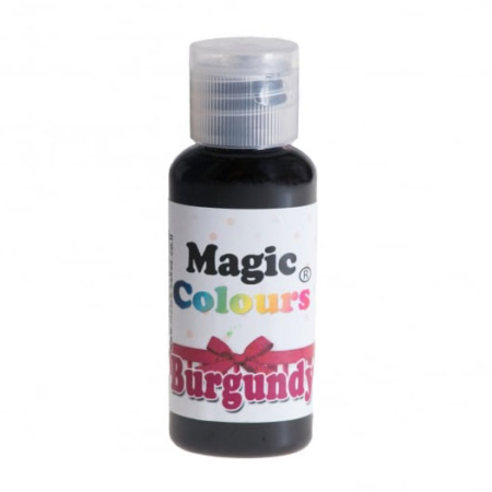 Barwnik w żelu Magic Colours PRO - Burgundy, Bordowy (32g)