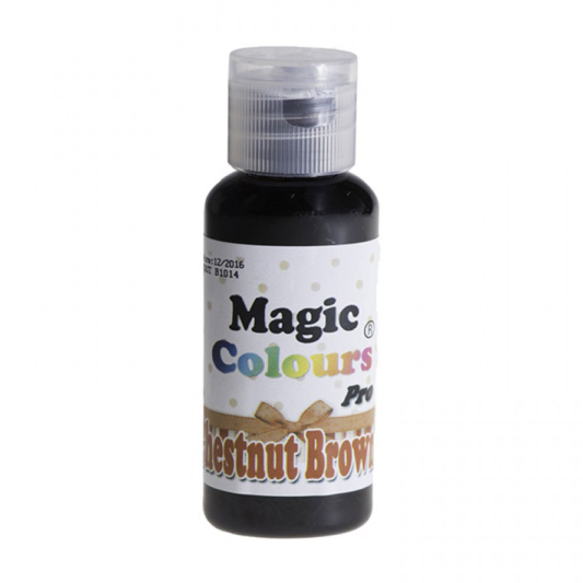 Barwnik w żelu Magic Colours PRO - Chestnut Brown, Kasztanowy (32g)