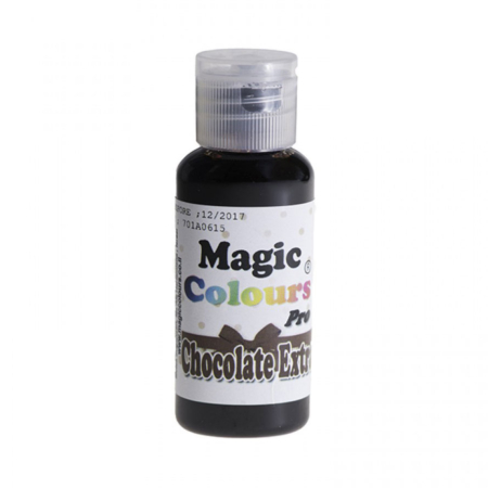 Barwnik w żelu Magic Colours PRO - Chocolate Extra, Czekoladowy (32g)