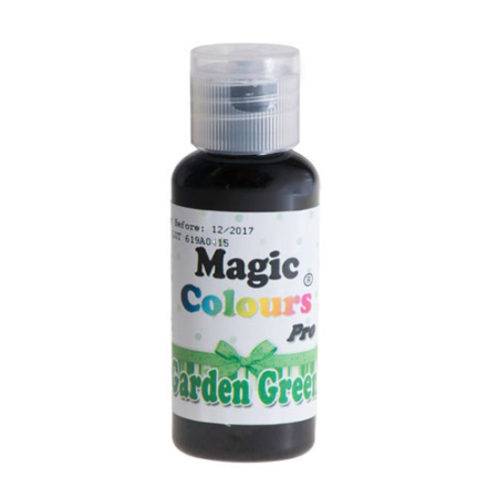 Barwnik w żelu Magic Colours PRO - Garden Green, Zielony (32g)