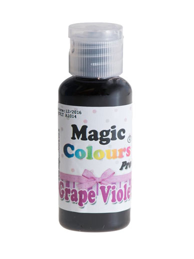 Barwnik w żelu Magic Colours PRO - Grape Violet, Fioletowy (32g)