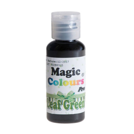 Barwnik w żelu Magic Colours PRO - Leaf Green, Zielony Liść (32g)