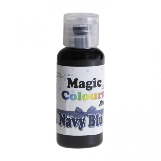 Barwnik w żelu Magic Colours PRO - Navy Blue, Granatowy (32g)
