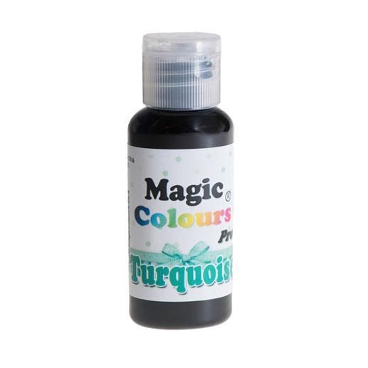 Barwnik w żelu Magic Colours PRO - Turquoise, Turkusowy (32g)