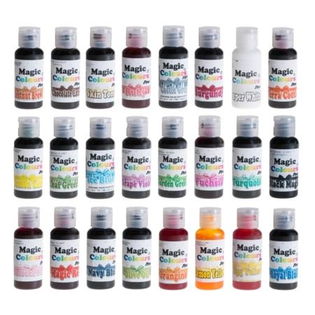 Barwniki w żelu Magic Colours PRO