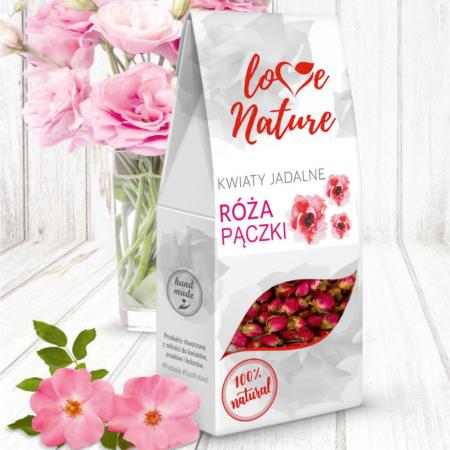 Kwiaty jadalne - Pączki, Pąki Róży 20g