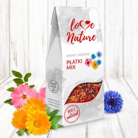 Kwiaty jadalne - Płatki Kwiatów Mix 10g