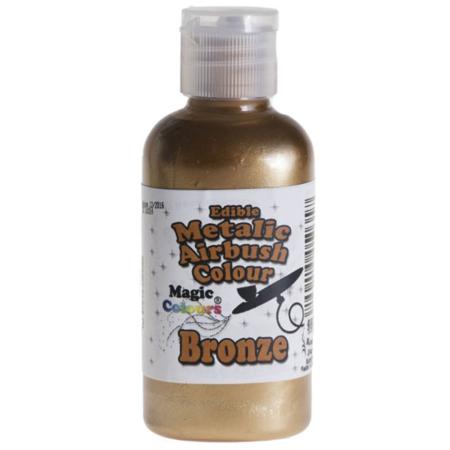Barwnik do Aerografu Magic Colours - Mettalic Bronze, Metaliczny Brąz (55 ml)